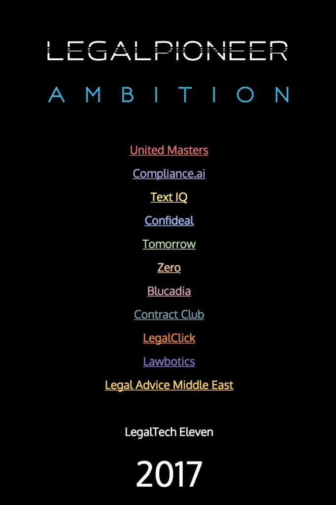 LegalTech Eleven